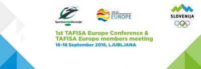 1st TAFISA Europe Conference