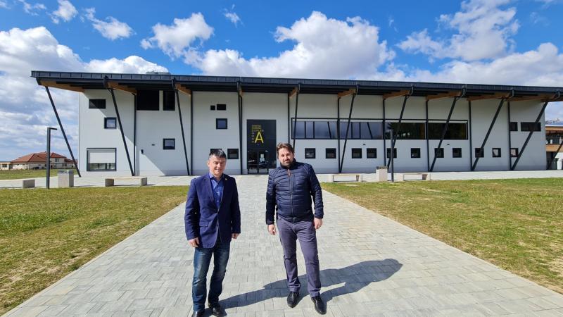 Prvi podpredsednik OKS-ZŠZ na obisku v občini Duplek