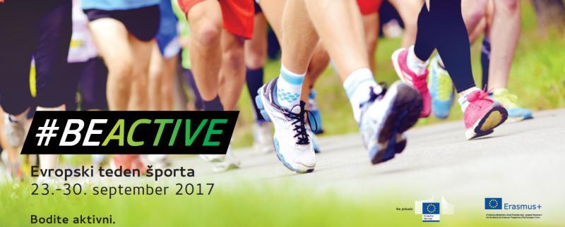 Prva predstavitev Evropskega tedna športa 2017